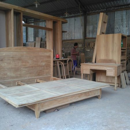 Teak Material Modern Furniture Production