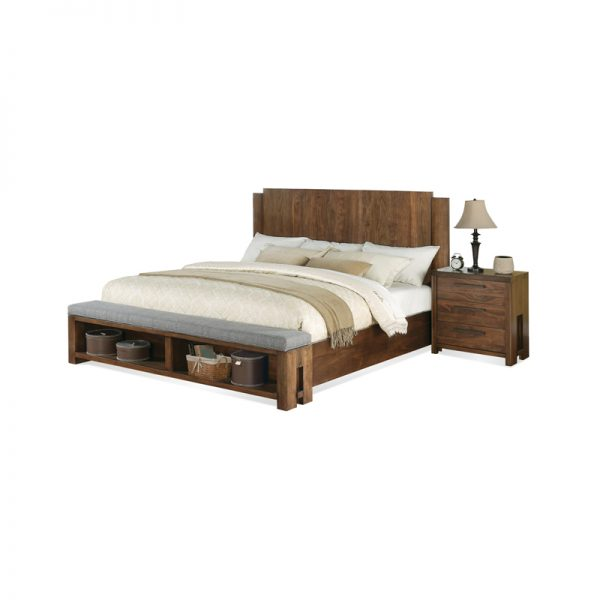 dealova modern bed frame wooden works jepara