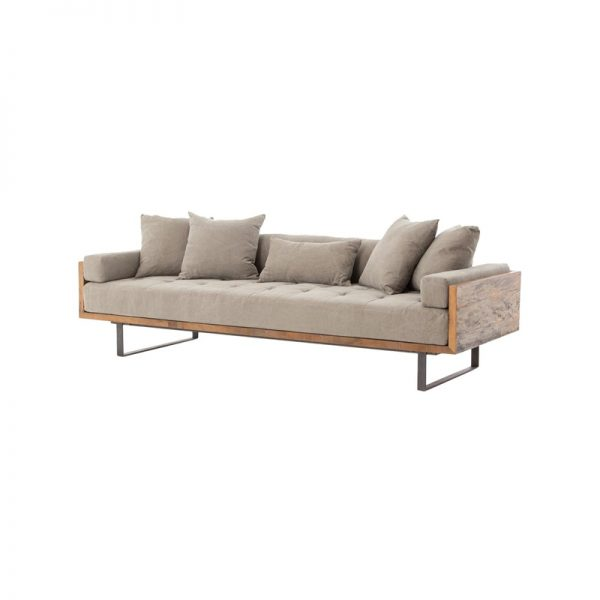 industrial teak sofa wooden works jepara