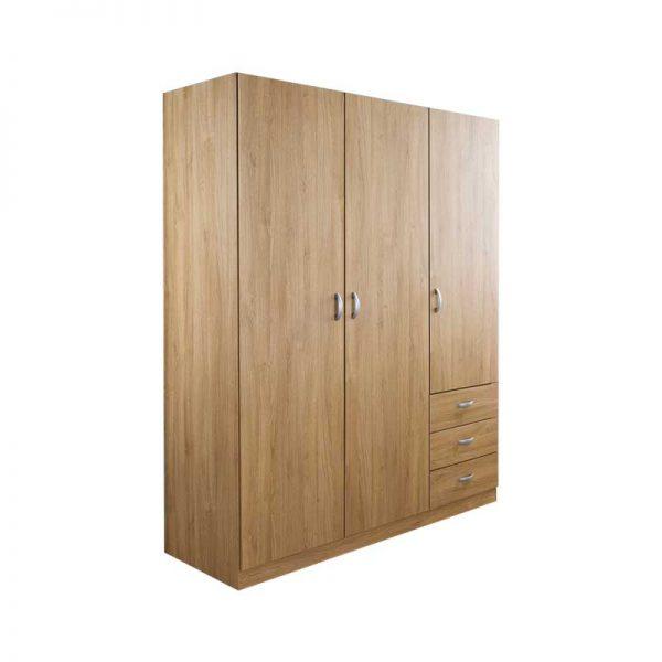 modern minimalist wardrobe wooden works jepara