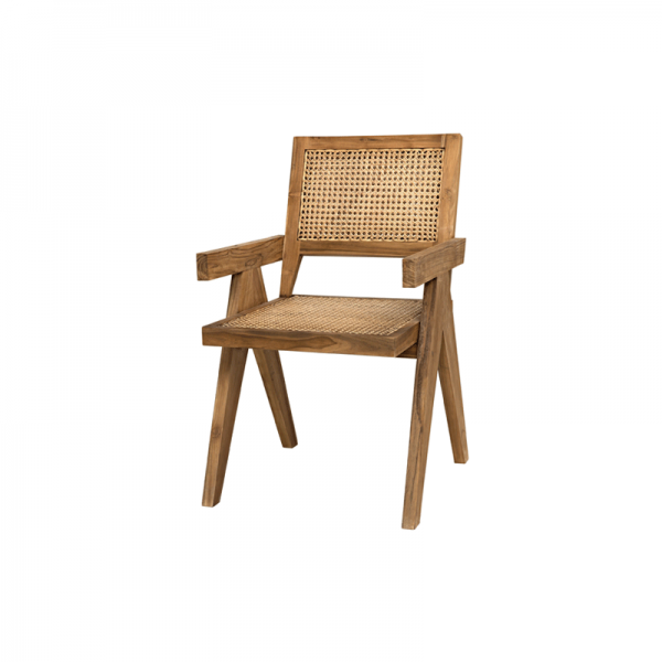 Java Rattan Dining Chair