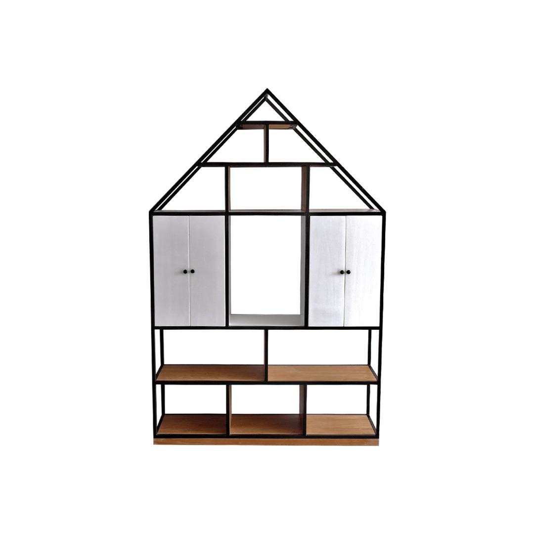 Modern uma book rack modern furniture indonesia