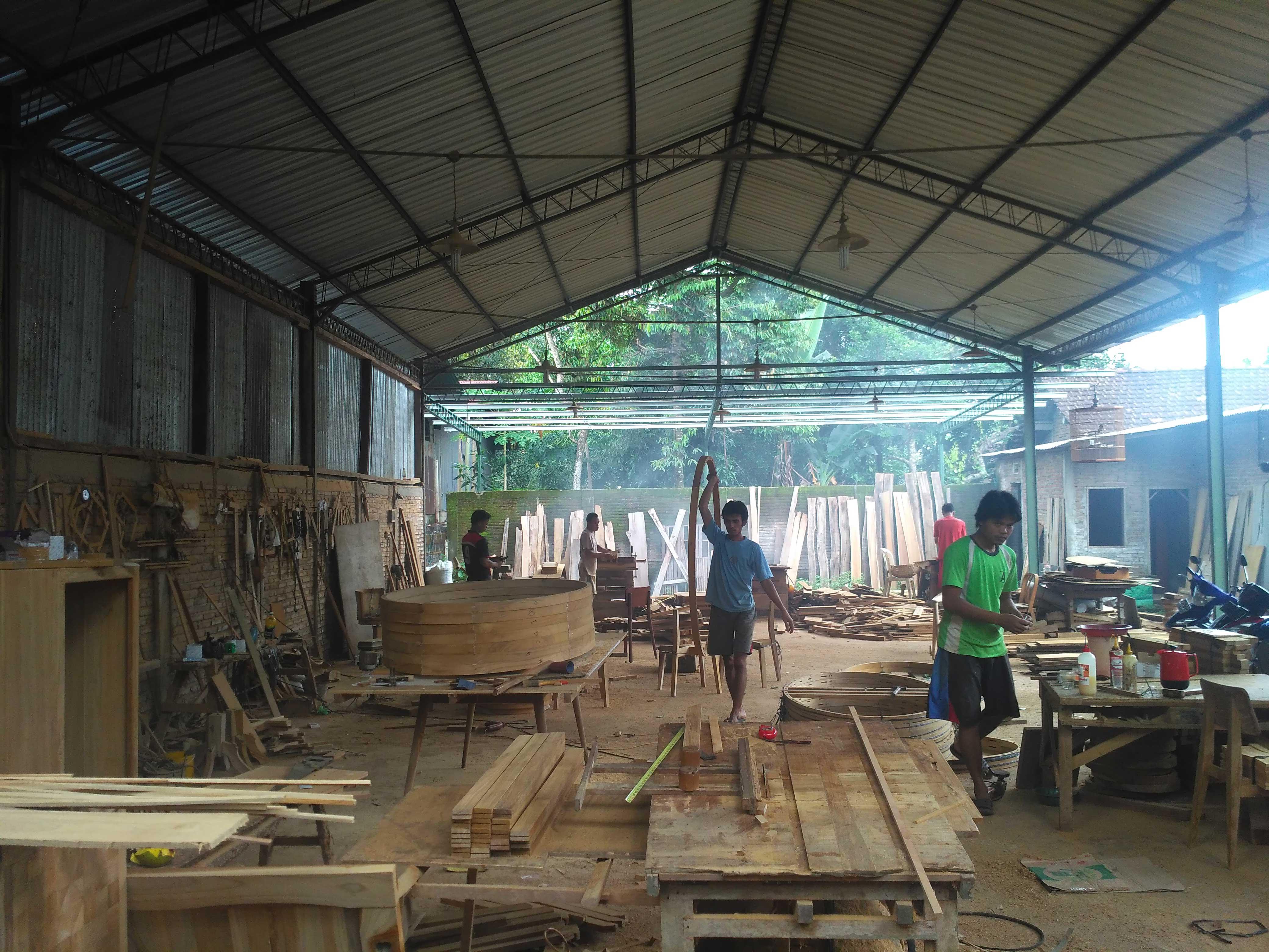 Workshop Wooden Works Jepara