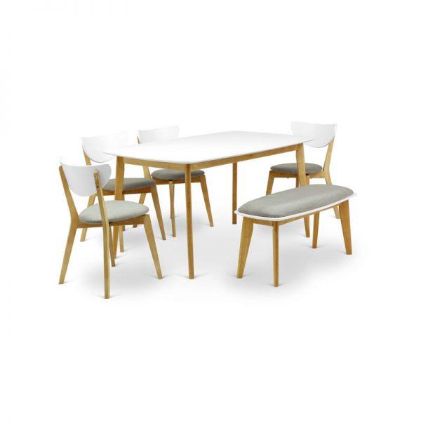 white_oslo_dining_set
