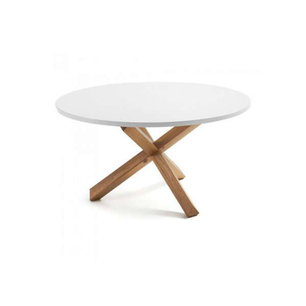 Modern White Bone Table, Modern Dining Table