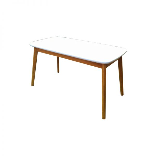 Modern White Top Table, Modern Dining Table