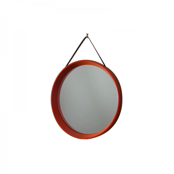 Modern Orange Round Mirror, modern furniture indonesia