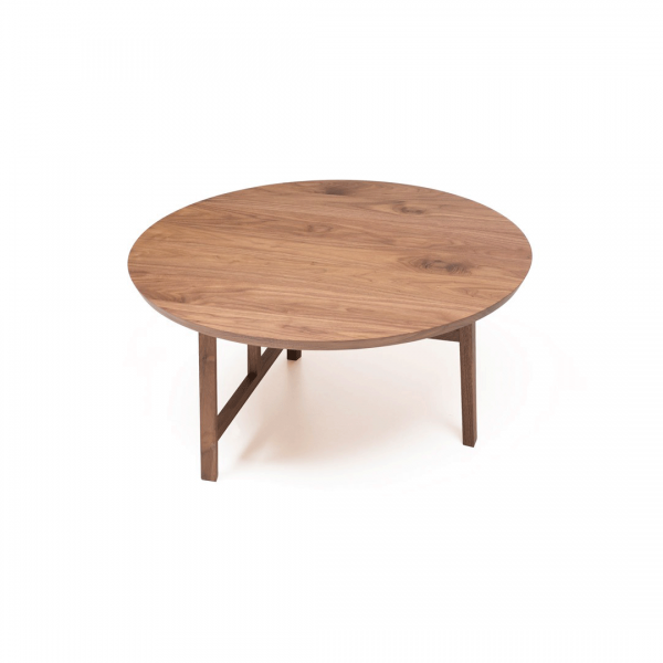 Grandita Round Coffee Table, modern round coffee table